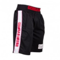 California Mesh Shorts Black/red
