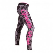 Camo Tights - Black/Gray