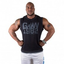 GW1982 Sleeveless Tee Pro Black/Grey