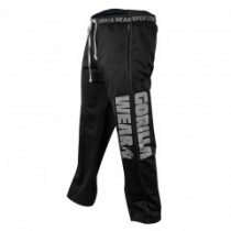 Logo Mesh Pants black