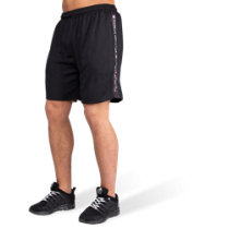 Reydon Mesh Shorts - Black