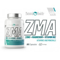 Zma+vit b6 600mg 90gels- NATURAL HEALTH